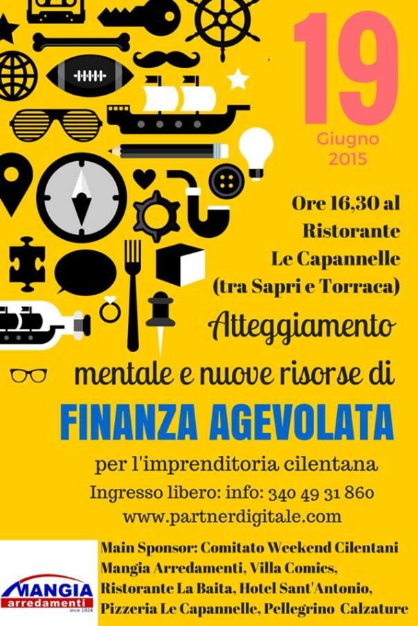 Atteggiamento mentale e finanza agevolata, il convegno organizzato da PartnerDigitale.com